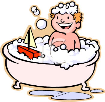 kids-bathtub-clipart